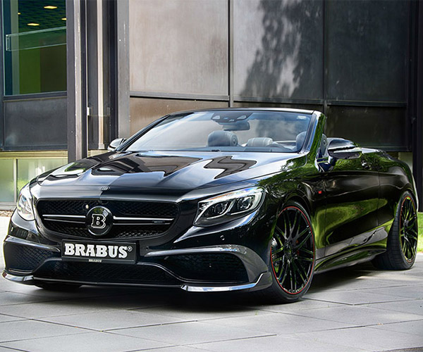Brabus 850 6.0 Biturbo Cabrio is the Fastest 4-seat 'Vert Around