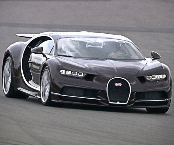 Bugatti President Scares Writer in a Chiron