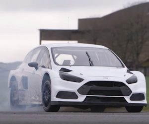 Ken Block Drifts His New Ford Focus RS RX