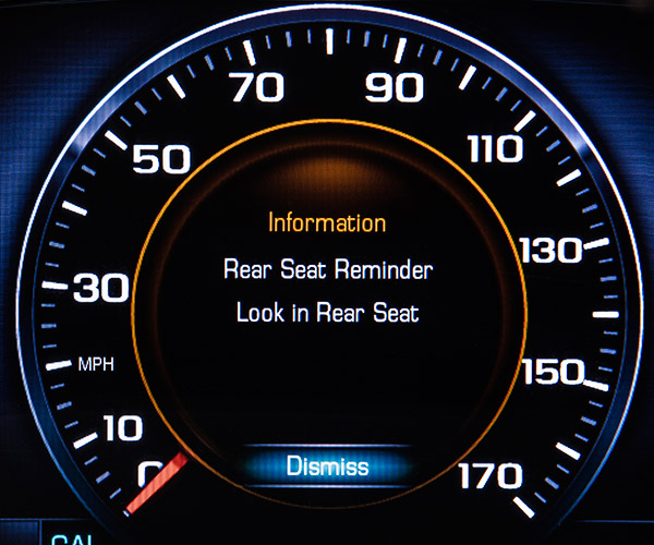 GMC Acadia Reminds Parents Not to Leave Kids in the Car
