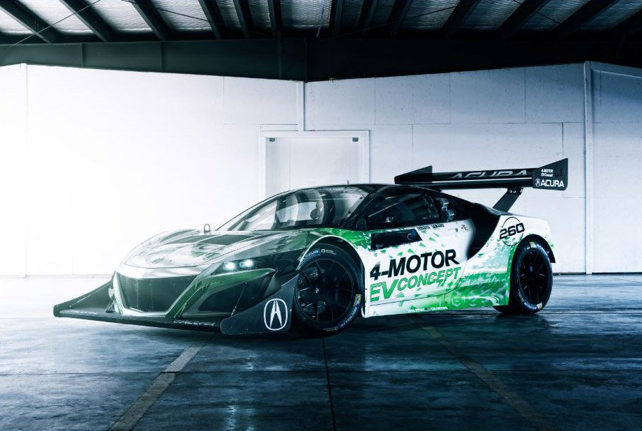 Acura Sends NSX-Based EV to Conquer Pikes Peak