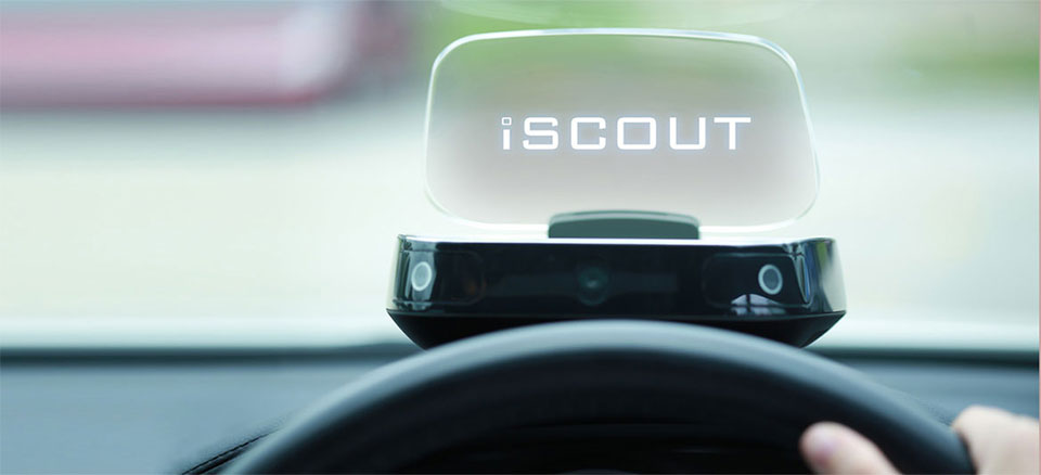 iScout HUD Puts Puts GPS Directions in a Better Place