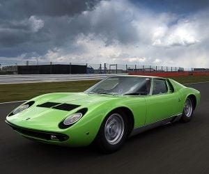 Happy 50th Birthday to the Lamborghini Miura