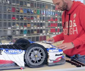 LEGO Ford GT Made from 40,000 Bricks