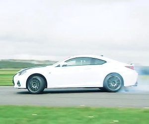 The Former Stig Pummels Three Beasts from Lexus