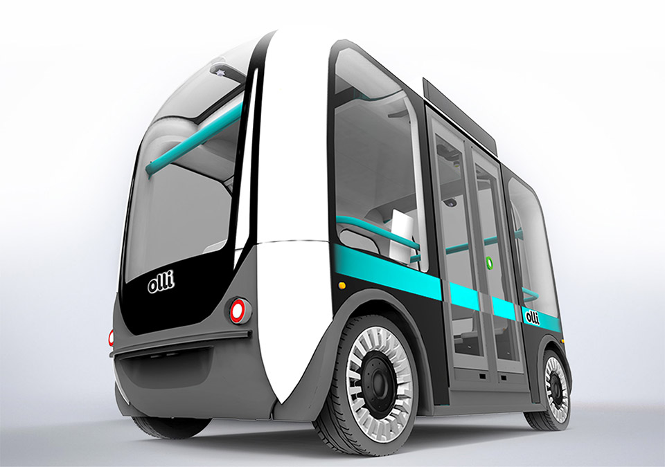 Local Motors Olli Autonomous Bus Has a Supercomputer Brain