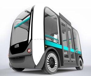 Local Motors Olli Autonomous Bus Has a Supercomputer Brain