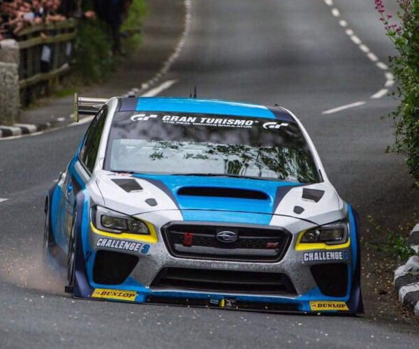 Mark Higgins and His WRX STi Dominate Isle of Man