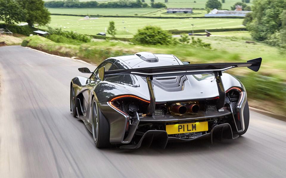 The McLaren P1 LM Is a Street Legal P1 GTR
