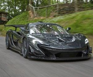 McLaren P1 LM Breaks Goodwood Hill Climb Record