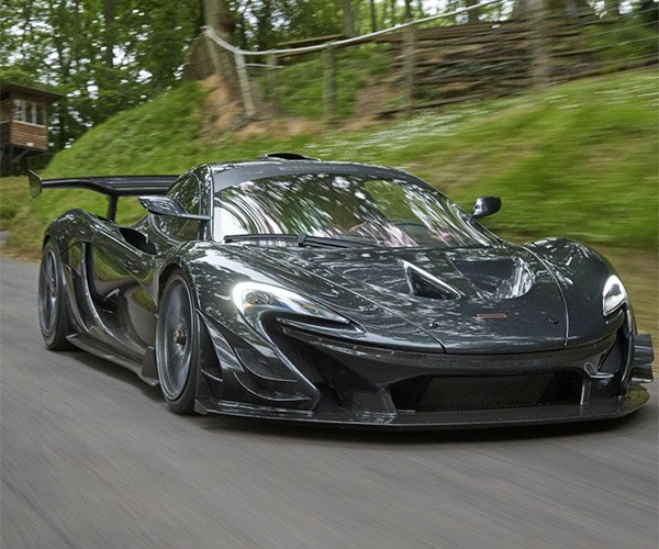 McLaren P1 LM Breaks Goodwood Hill Climb Record