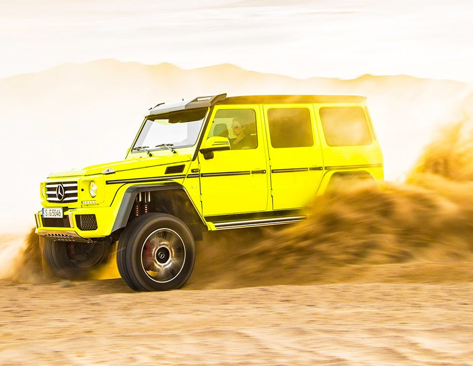 Mercedes-Benz G500 4×4² to Land in US as G550 4×4²
