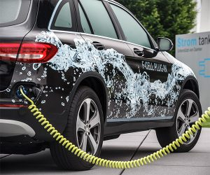 Mercedes to Launch GLC-class with Plug-in Fuel Cell