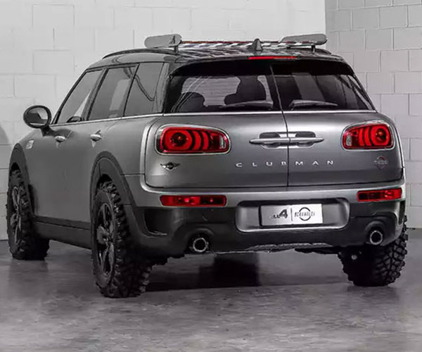 MINI Clubman All4 Scrambler Concept Wants to Off-road