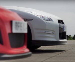 Drag Battle Pits Favored GT-R Track Edition Against a GT3 RS