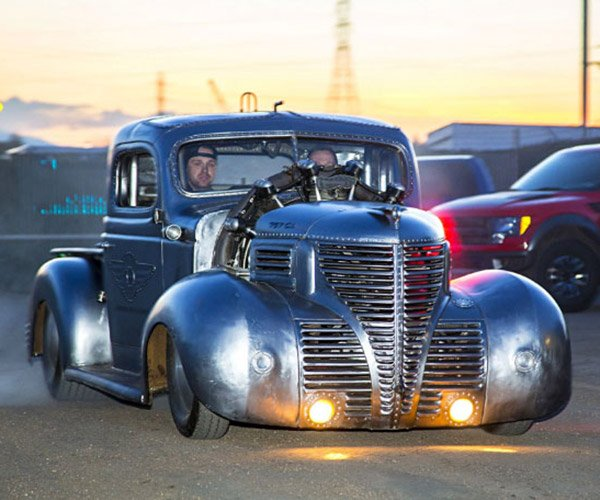 1939 Plymouth Truck Has the Radial Heart of an Airplane