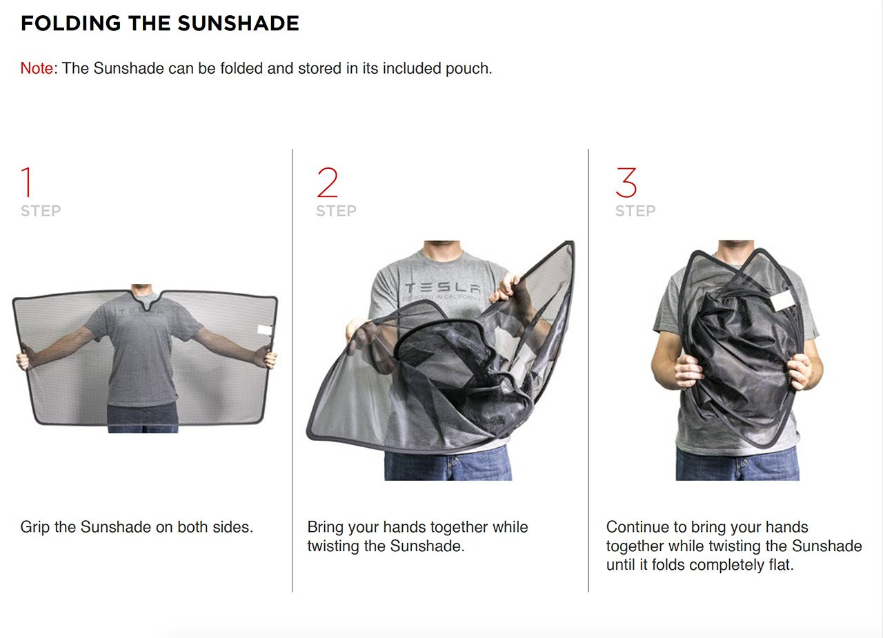 Tesla Offers Model X Owners A Free Sunshade 95 Octane