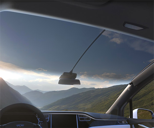 Tesla Offers Model X Owners a Free Sunshade