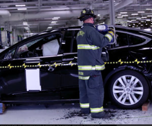 Watch a Tesla Model X Get Ripped Apart – For a Good Cause