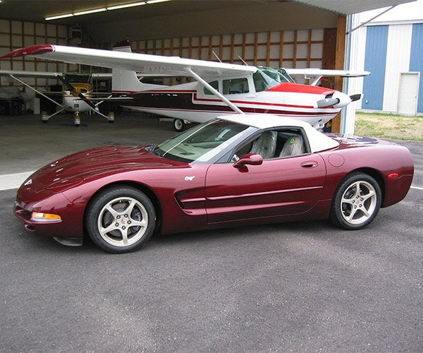 This 2003 50th Anniversary Corvette Has Driven Just 57 Miles