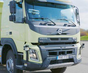 Volvo Shows off Its FMX Autonomous Truck