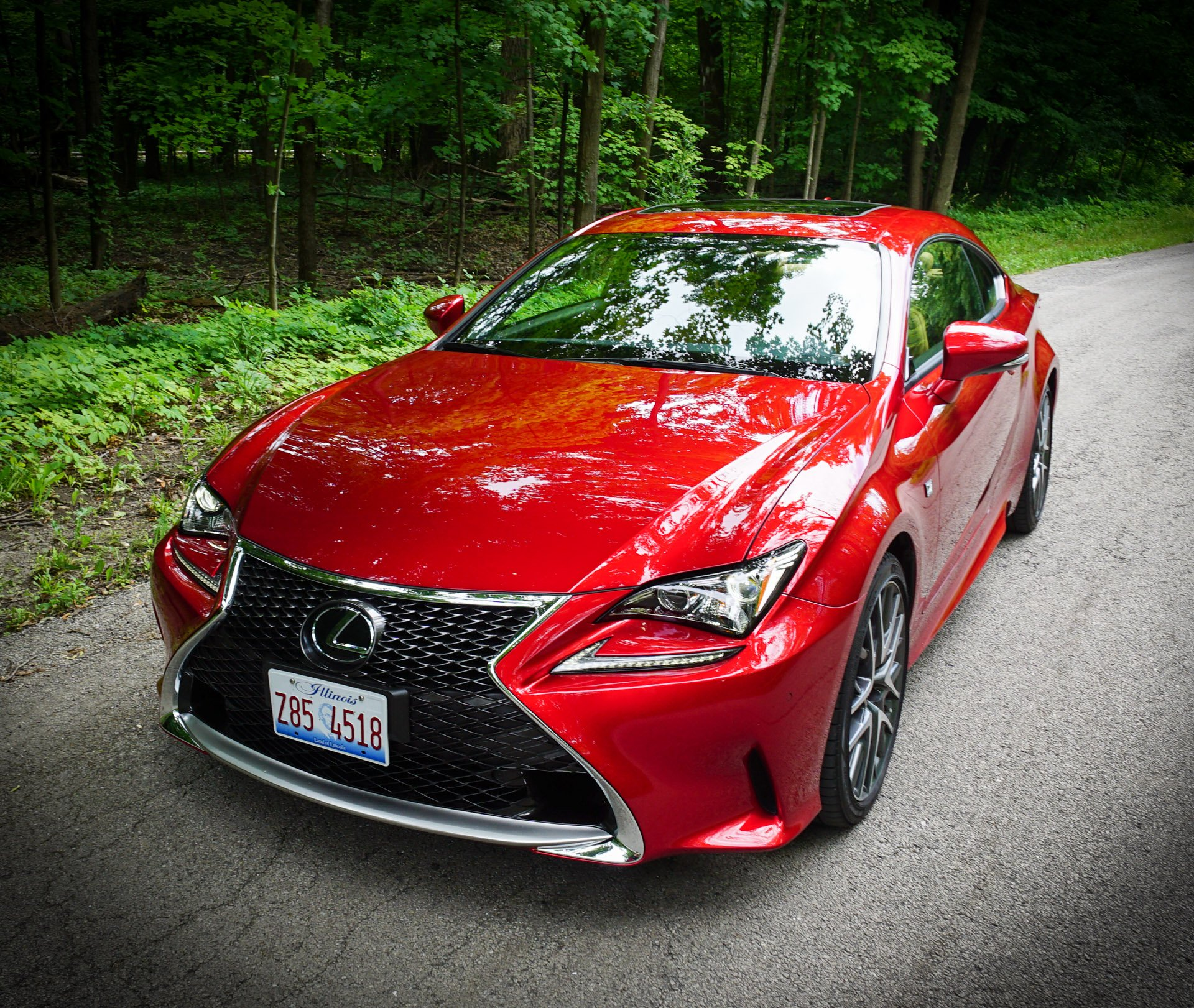 Review: 2016 Lexus RC 200t F Sport