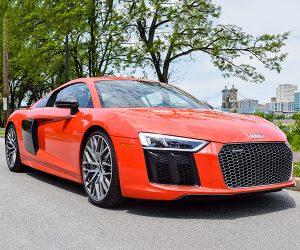 Review: 2017 Audi R8 V10 Plus