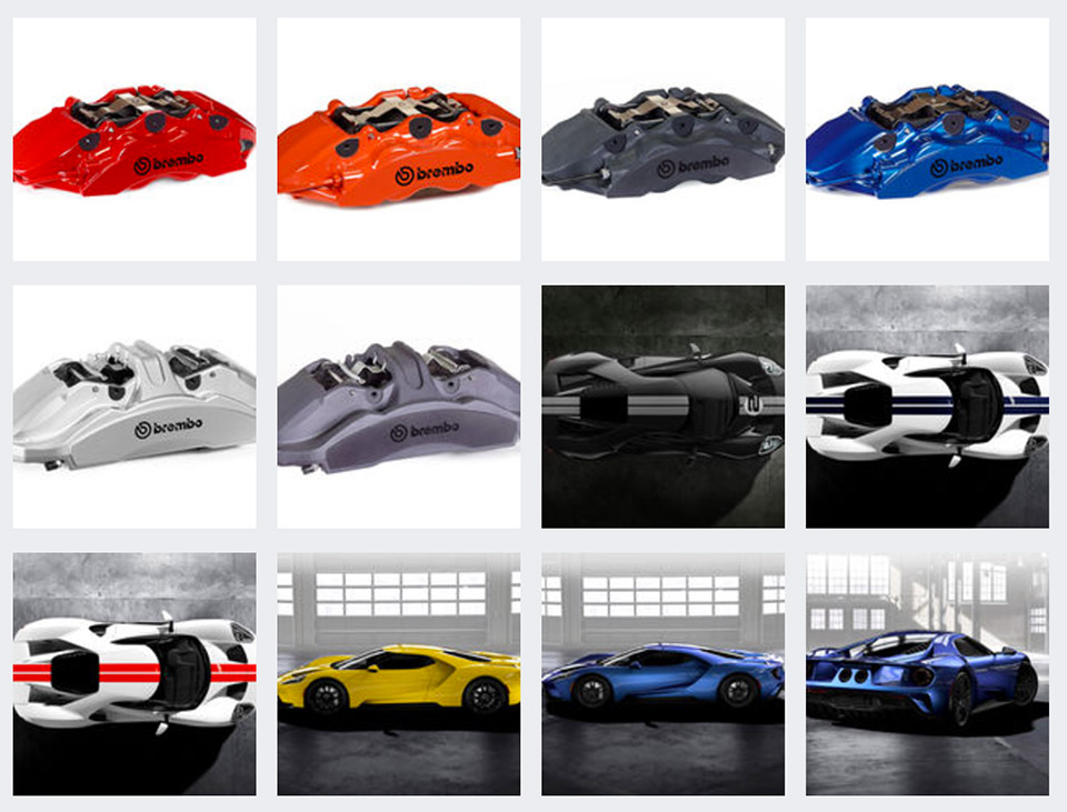 2017 Ford Colors >> 2017 Ford Gt Comes In No Trendy Colors