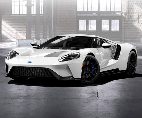 "2017 Ford GT Comes in No ""Trendy"" Colors"