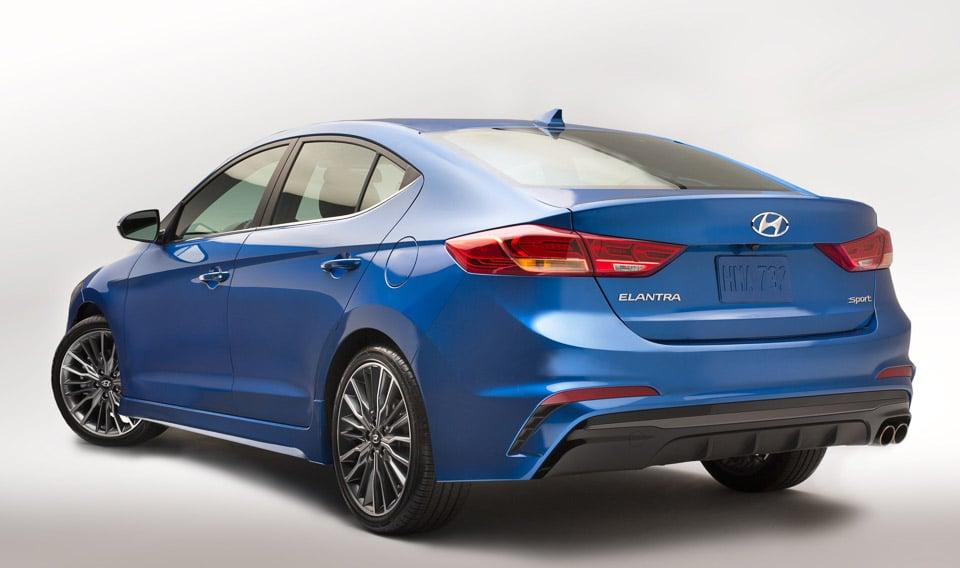 2017 Hyundai Elantra Sport Packs 200hp, Suspension Upgrade - 95 Octane