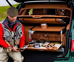 Bentley Bentayga Fly Fishing for the Uber Rich Sportsman