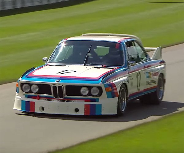 100 Years of BMW Motorsports Makes an Awesome Parade