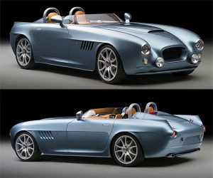 Bristol Bullet Packs BMW V8 and Carbon Fiber Body