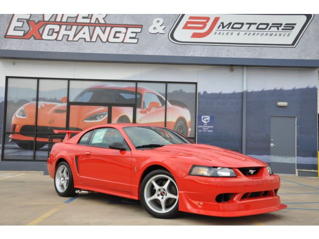 2000 cobra r mustang with 85 miles for sale 95 octane. Black Bedroom Furniture Sets. Home Design Ideas