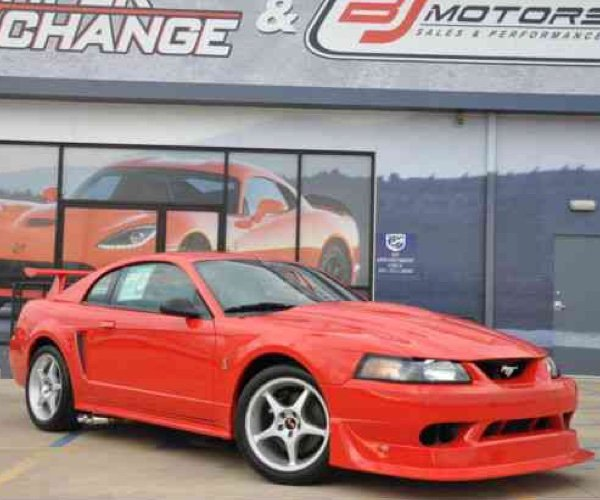 2000 Cobra R Mustang with 85 Miles for Sale