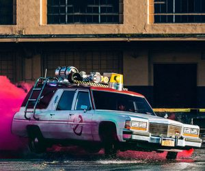 Lyft Will Pick You Up in the Ecto 1