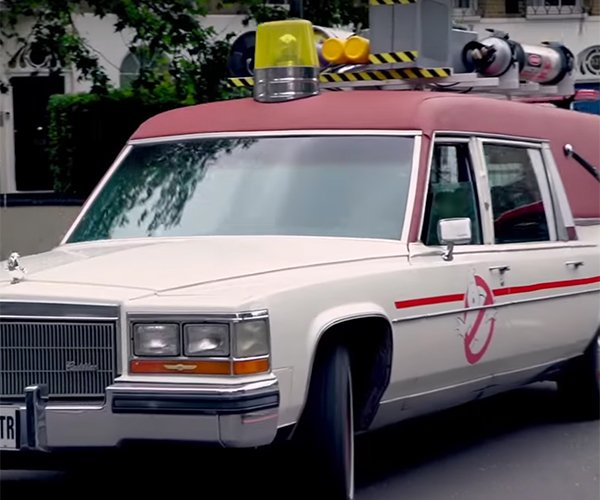 Keymaster for a Day in Ghostbuster's Latest Ride
