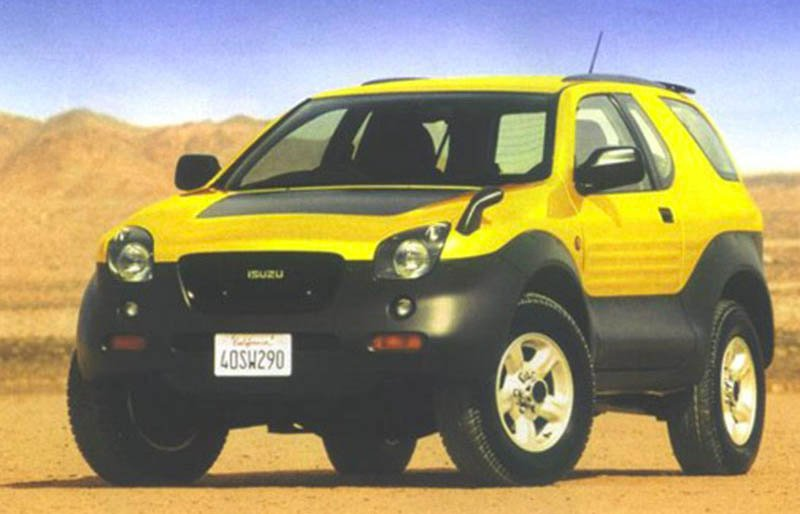 Blast from the Past: Isuzu VehiCROSS