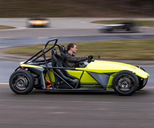 Kyburz eRod is an Electric Track Day Fun Car