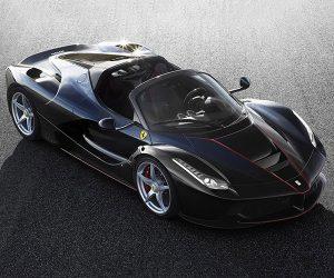 Ferrari LaFerrari Spider Breaks Cover, Already Sold Out