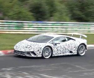 Lamborghini Huracan Superleggeras Spied on the Ring