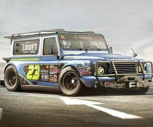 Land Rover Defender NASCAR Concept
