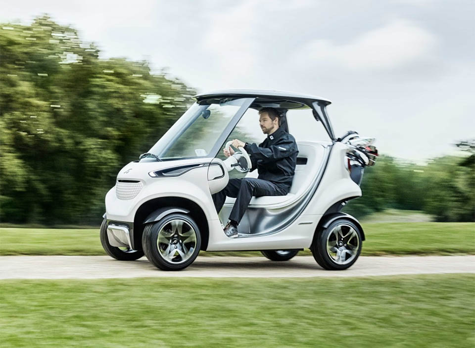 "Mercedes Shows off ""A Real Sports Car"" for the Golf Course"