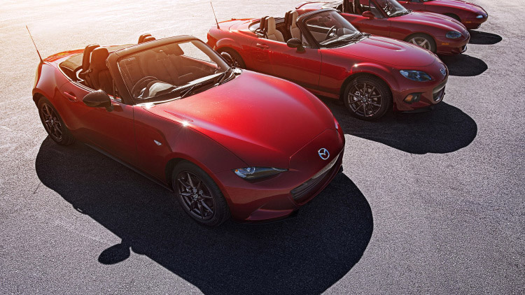 Mazda Eyes Carbon Fiber for Next MX-5