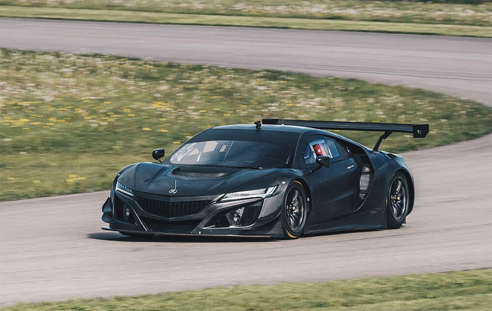 Acura Nsx Gt3 Looks Fantastic In Bare Carbon Fiber 95 Octane