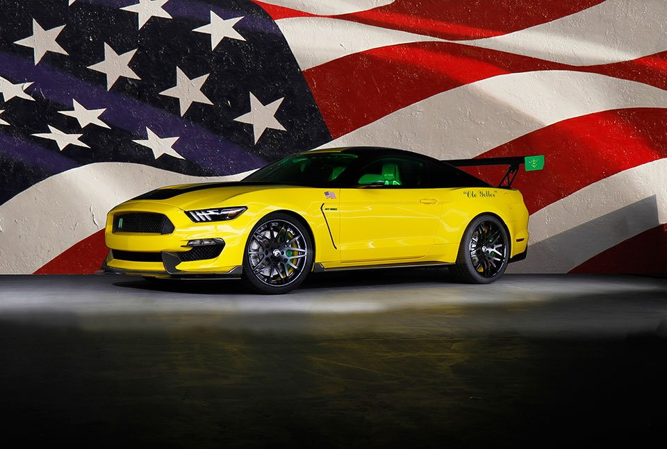 """Ole Yeller"" Shelby GT350 Heads to Charity Auction"