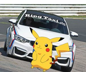 Famed Ring Taxi Gives Pokémon GO Rides