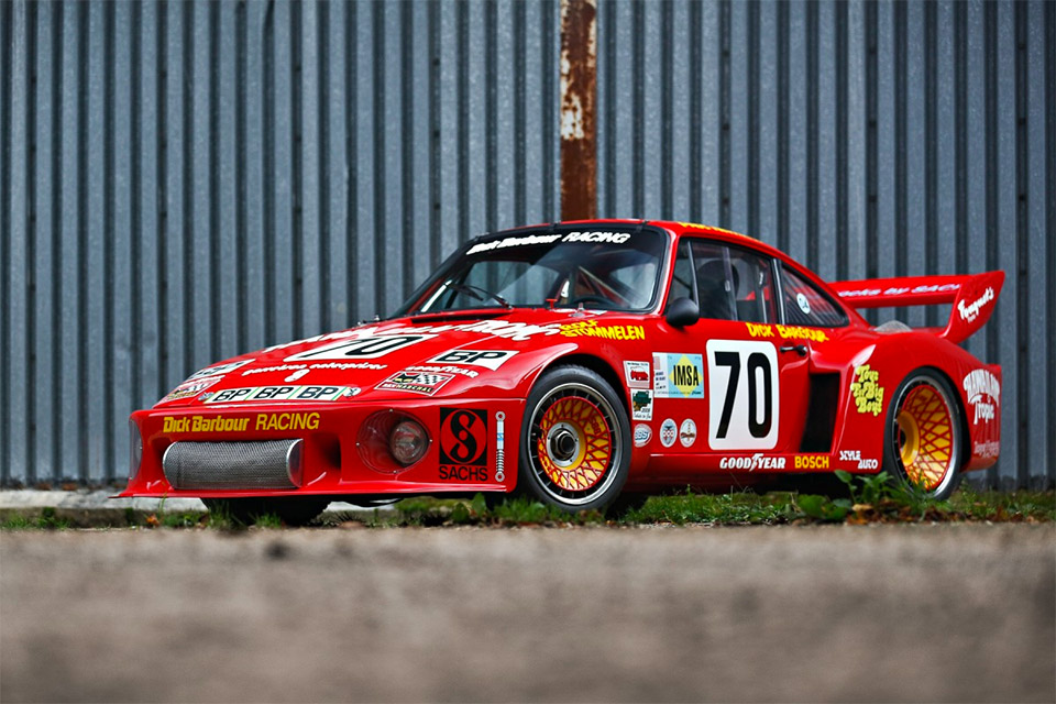 Paul Newman's Porsche 935 Le Mans Racer Heads to Auction