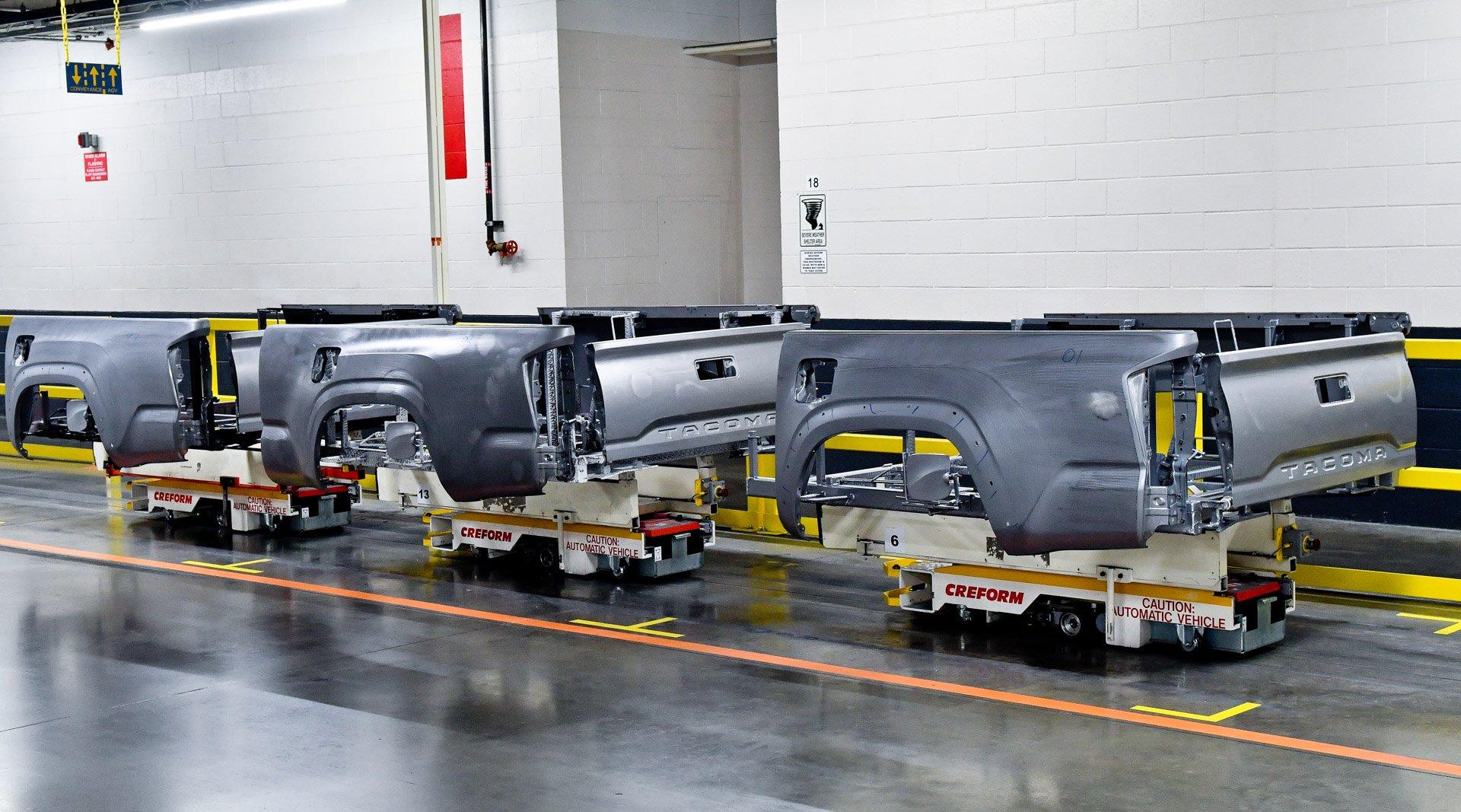Go Inside Toyota's Texas Truck Plant