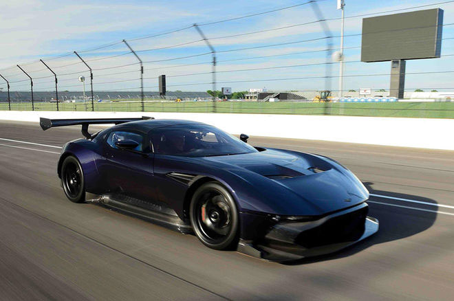 Aston Martin Vulcan #11 Heads to Auction